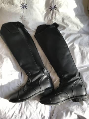 bottes d'équitation en cuir (575279) | Acheter ce matériel