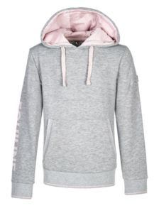 Sweat Junior Equiline Gris / Rose