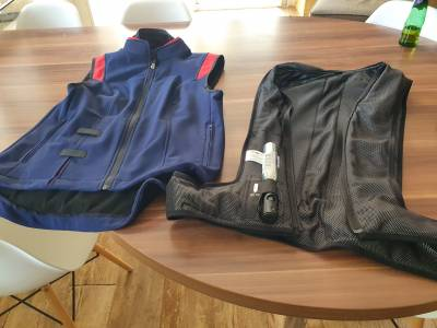 Gilet +air bag Helite air