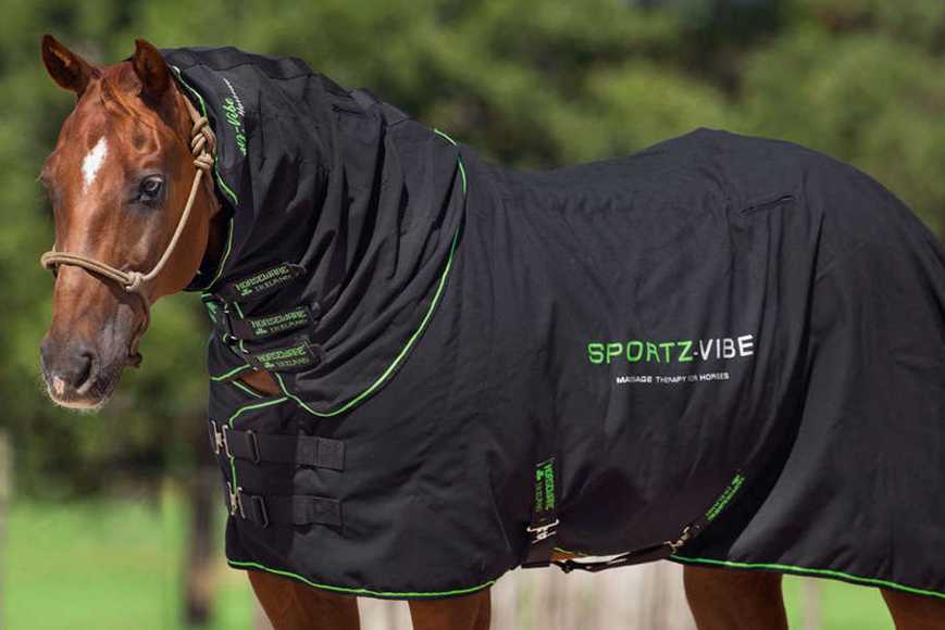 Les couvertures massantes / de soin: alternative pour favoriser la récupération du cheval ?