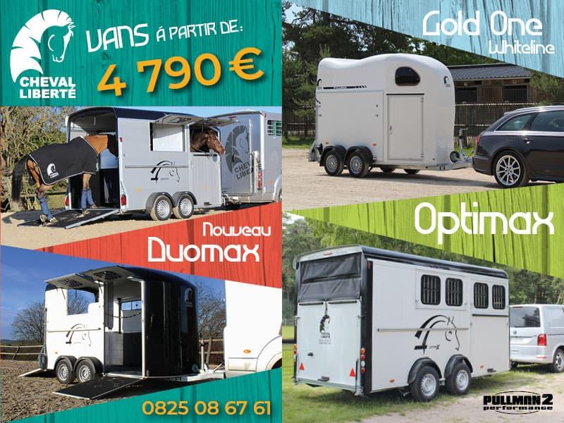 Vans chevaux Neuf à vendre | Equirodi France